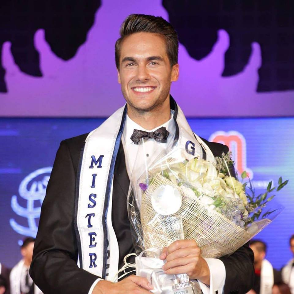 Tomas Martinka, Mister Global 2016 from Czech Republic.