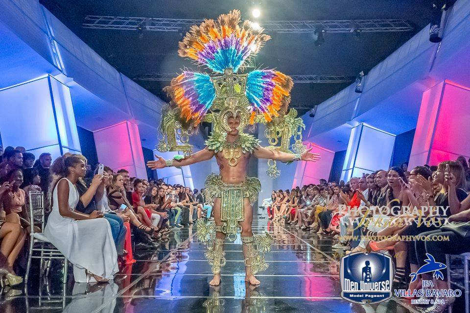 Best in National Costume - Marlon Polo of Panama