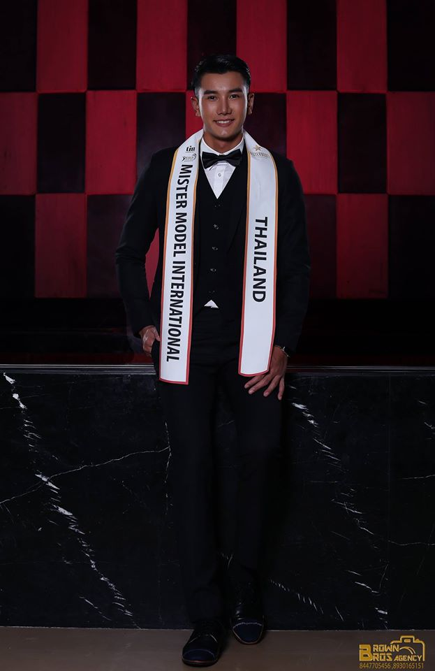 Narapat Sakunsong during the formal wear shoot of Mister Model International Pageant held at Anya Hotel in Gurgaon. Photography by Brown Bros Agency