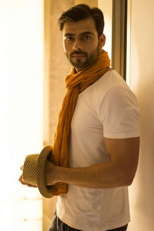 Rubaru Mr India Global 2017, Srikant Dwivedi.