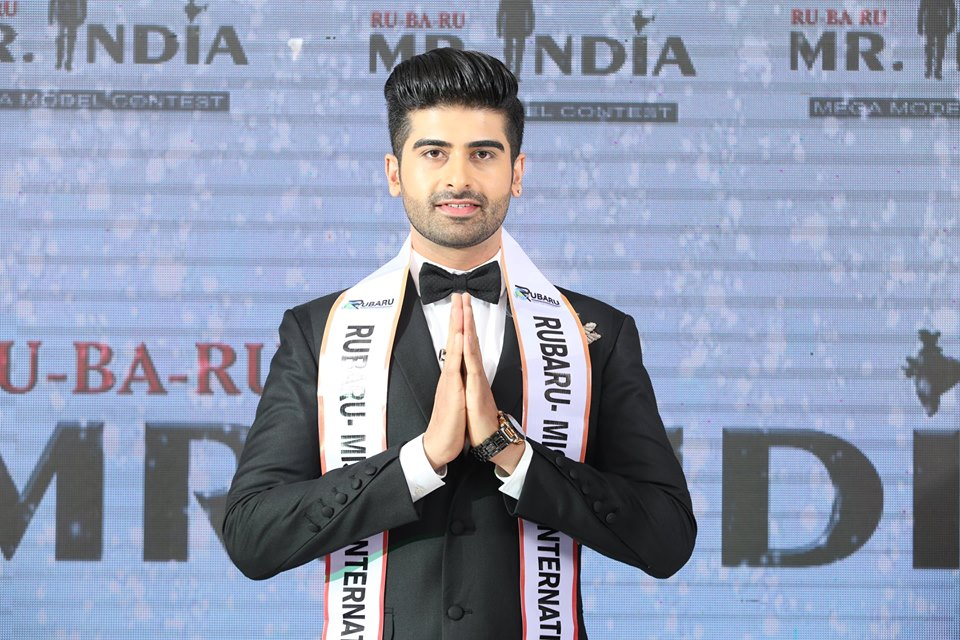 Darasing Khurana, Rubaru Mr India International 2017.
