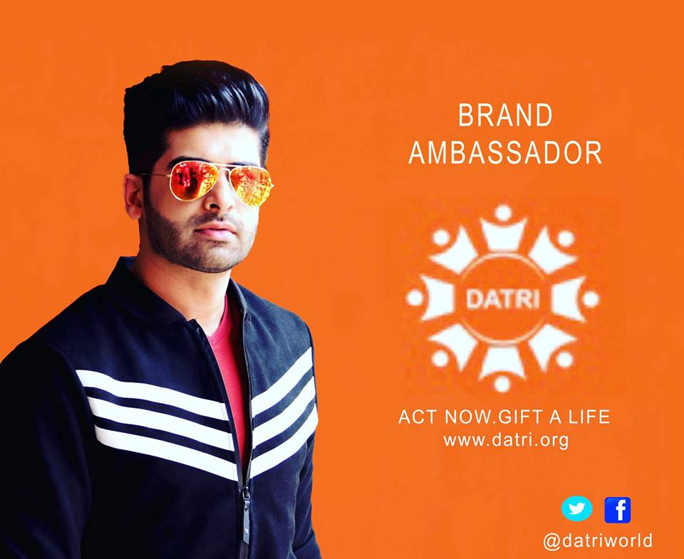Rubaru Mr India International 2017, Darasing Khurana, the brand ambassador for Datri