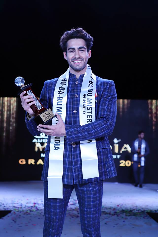 Suraj Dahiya, Audi Goa Rubaru Mr India 2018.