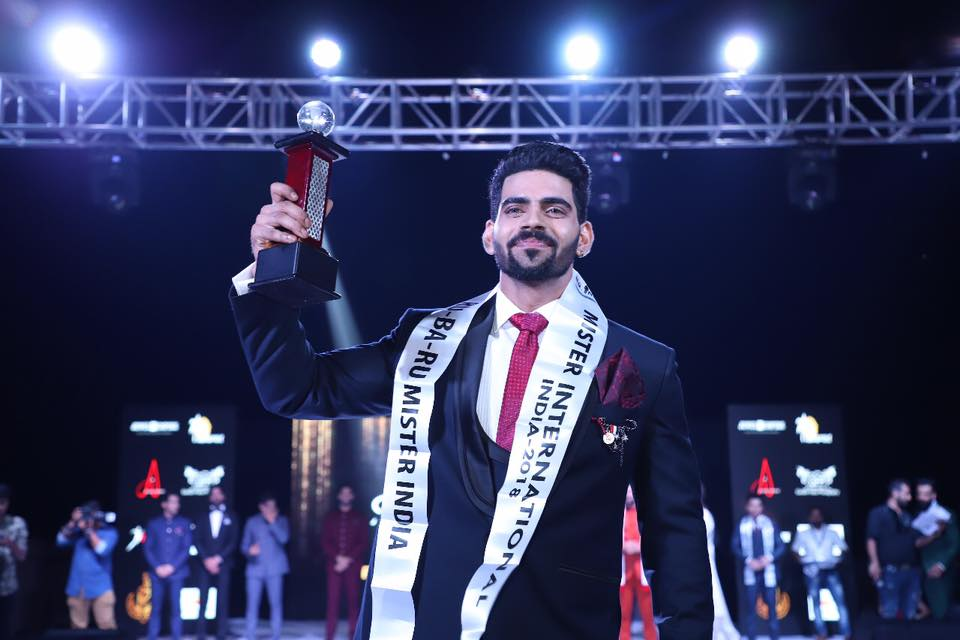 Audi Goa Rubaru Mr India International 2018, Balaji Murugadoss' winning moment at the grand finale of the pageant held in Goa.