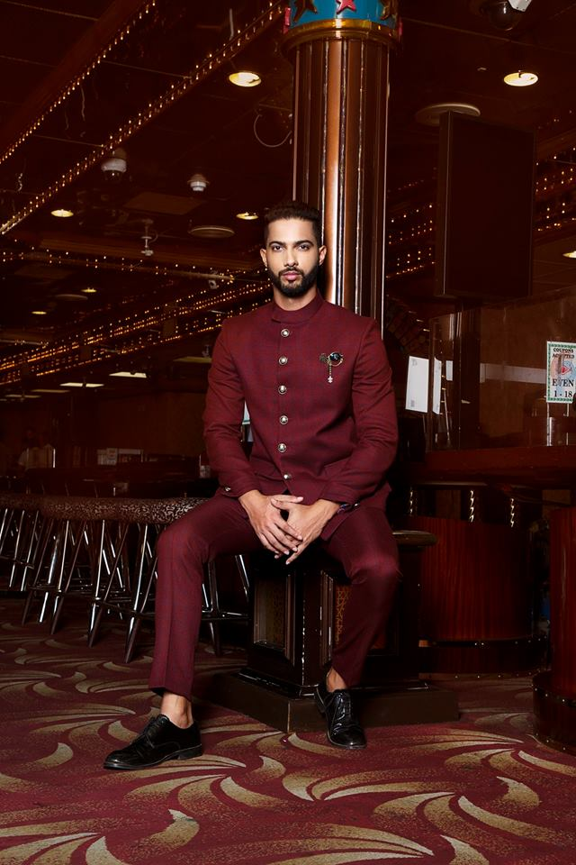 Dalton Dsouza, Audi Goa Rubaru Mr India Model International 2018.