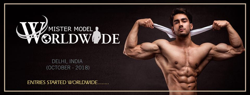 Mister Model Worldwide  will be the first international modelling competition for men having head quarters in India.  In frame: Suraj Dahiya, Audi Goa Rubaru Mr India 2018.