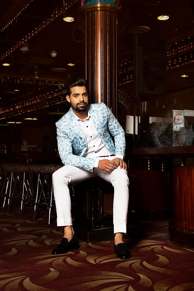 Farhan Qureshi, Audi Goa Rubaru Mr India National Universe 2018.