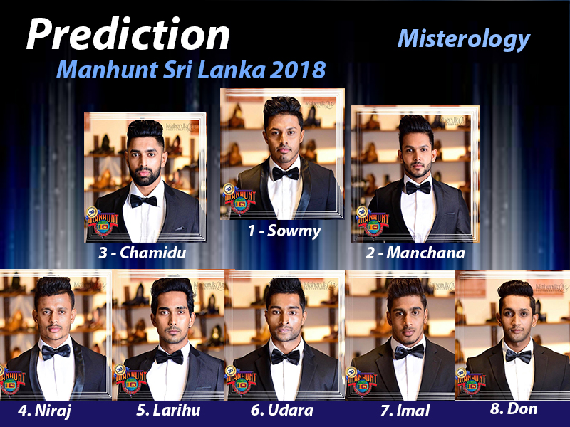 Prediction Manhunt Sri Lanka 2018