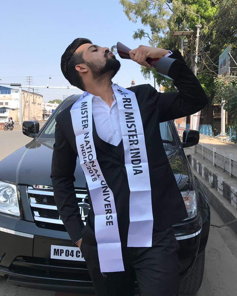 Farhan describes winning the Rubaru Mister India title as a dream come true moment and mentioned he would try every possible thing to make his country proud.