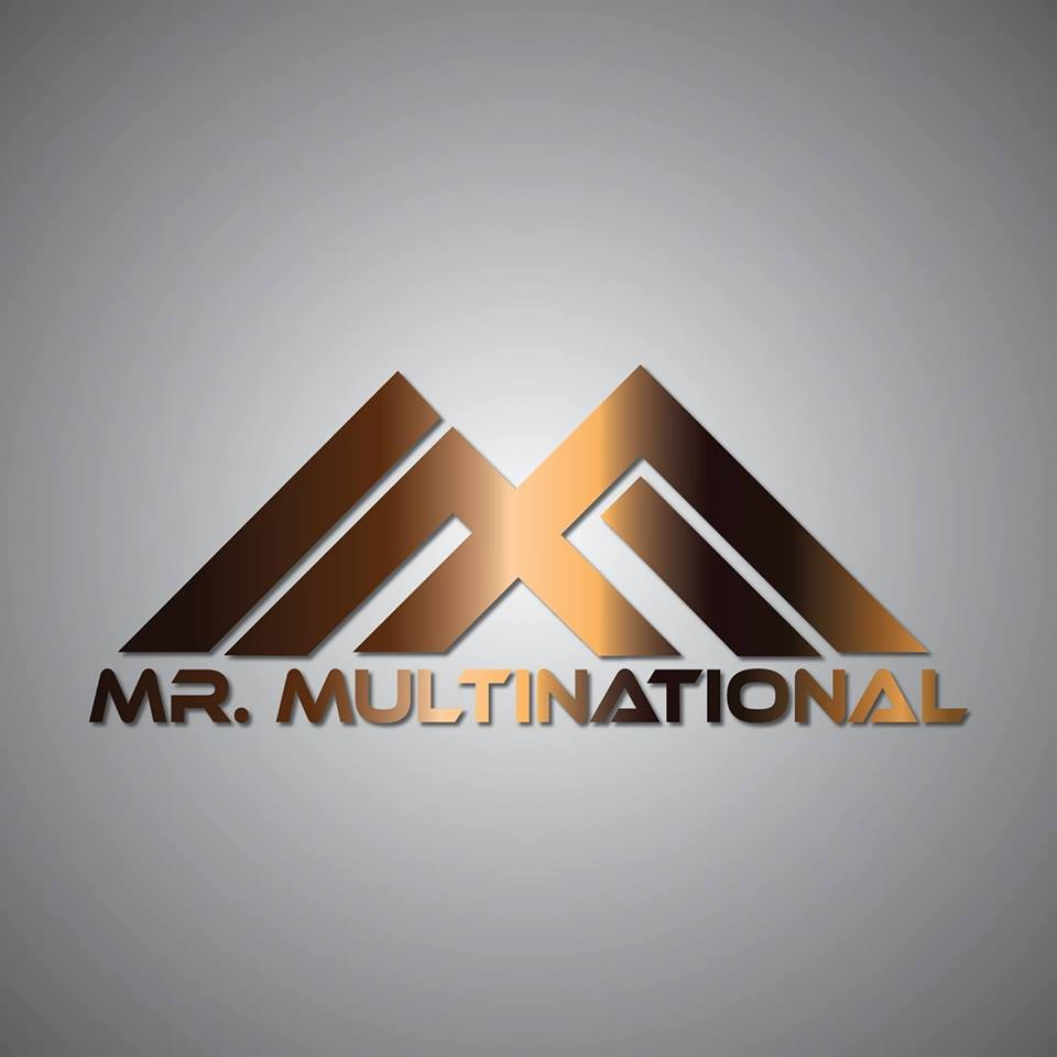 The official logo of Mr Multinational pageant.