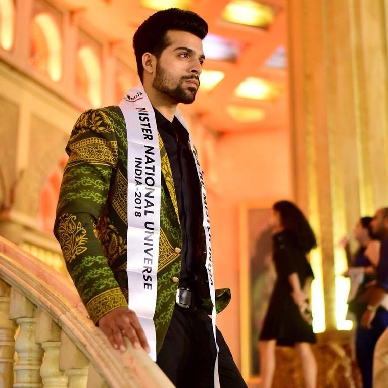Audi Goa Rubaru Mr India National Universe 2018, Farhan Qureshi