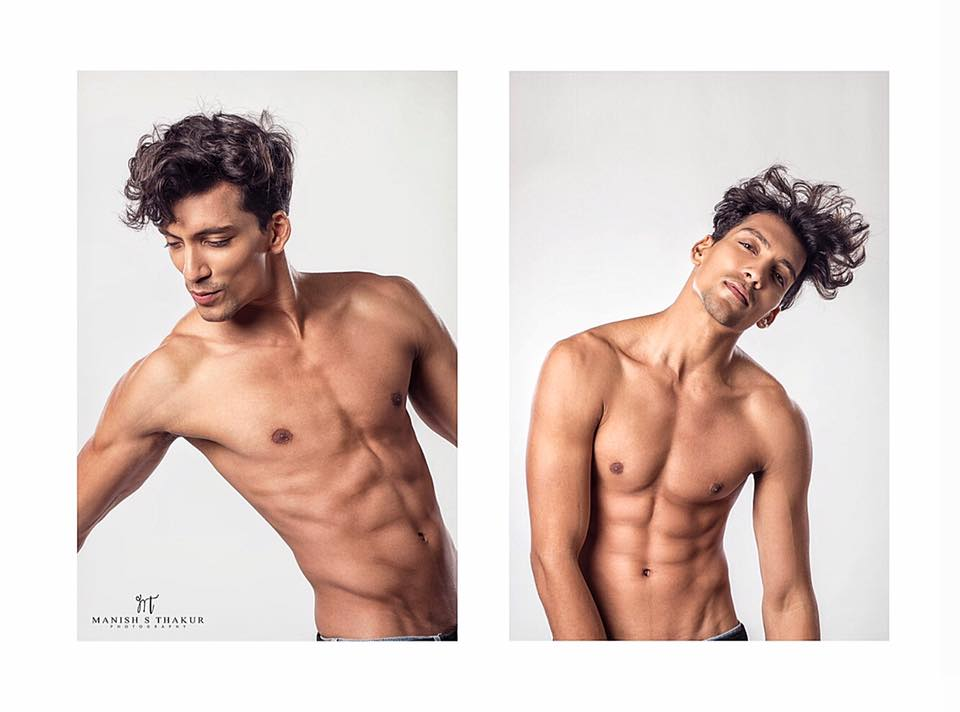 Prateek got noticed for his exceptionally well built Greek-God like physique and his perfectly well chiselled face with magnificent jawline and appropriately uplifted cheekbones.