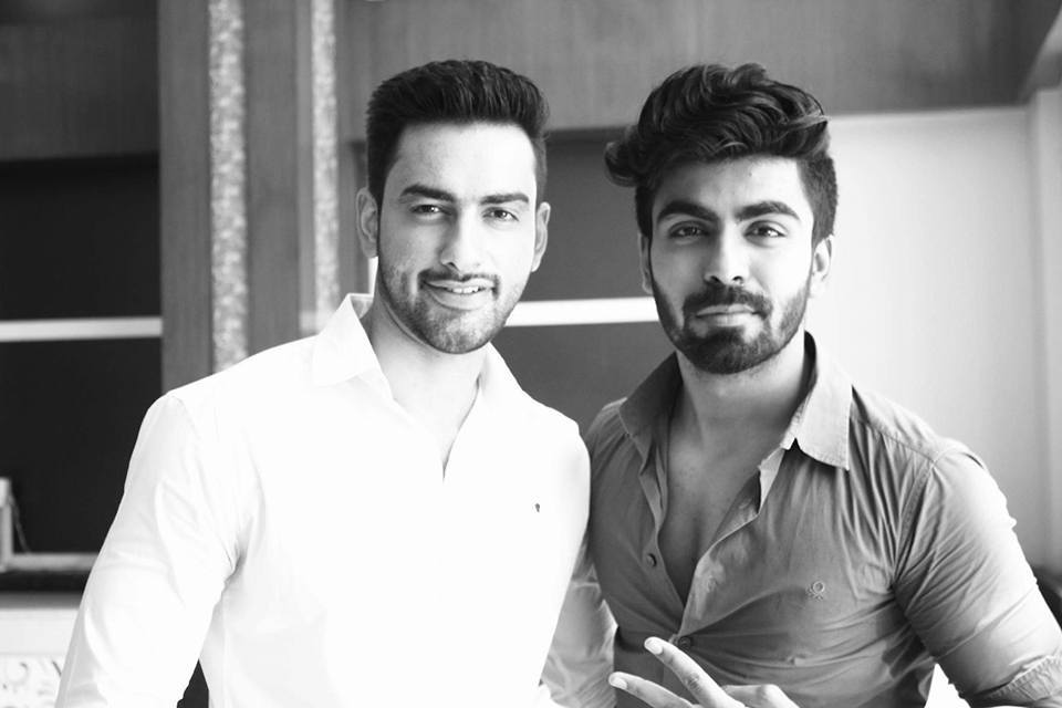 Model, actor, reality TV celebrity and Rubaru Mister India 2016, Akash Choudhary from New Delhi with model, engineer, Rubaru Mister India United Continents 2016 and the first Indian to win Mister United Continents contest, Mohit Singh from Haryana.