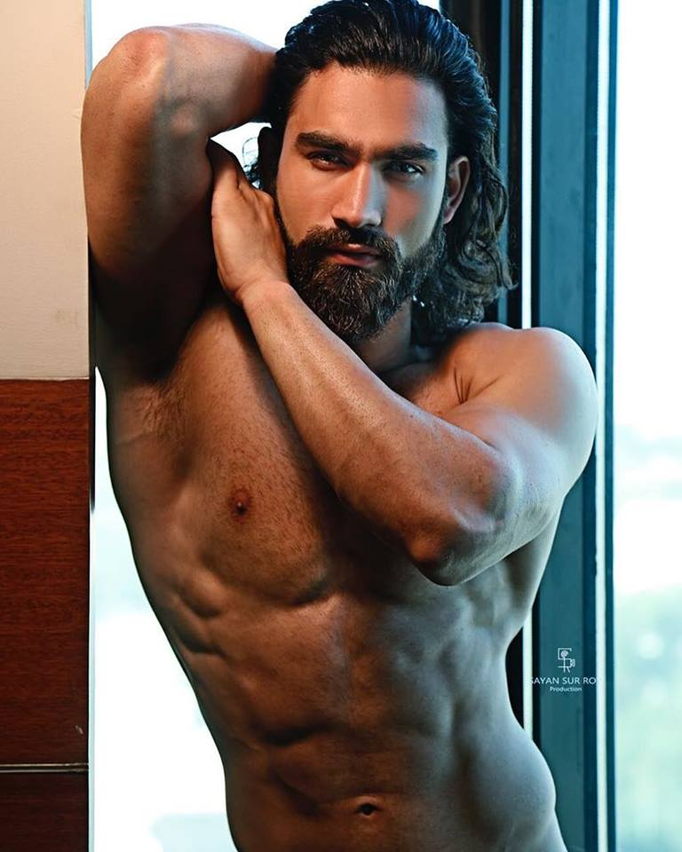 Pardeep Kharera, Audi Goa Rubaru Mister India United Continents and India's representative to the Mister United Continents 2018 competition. . He was one of the heavy favourite candidates to win the title. He got attention for his extremely well-built physique and his very exotic looks.