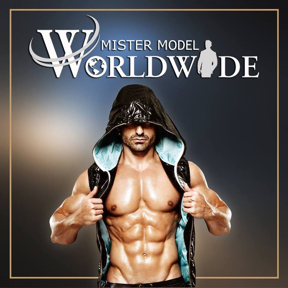 The logo of Mister Model Worldwide competition.