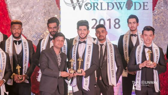Mr Armenia, Edik Karapetyan won Style Icon award at Mister Model Worldwide 2018 contest.