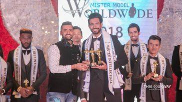 Mr Sri Lanka, Sajith Perera won three special awards at Mister Model Worldwide 2018 contest.