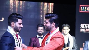 Mister India 2017, Darasing Khurana with Mister India 2018, Balaji Murugadoss.