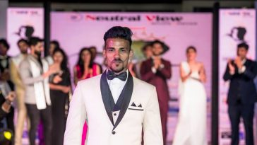 Rahul Rametri, the winner of Mister Goa 2018 contest.
