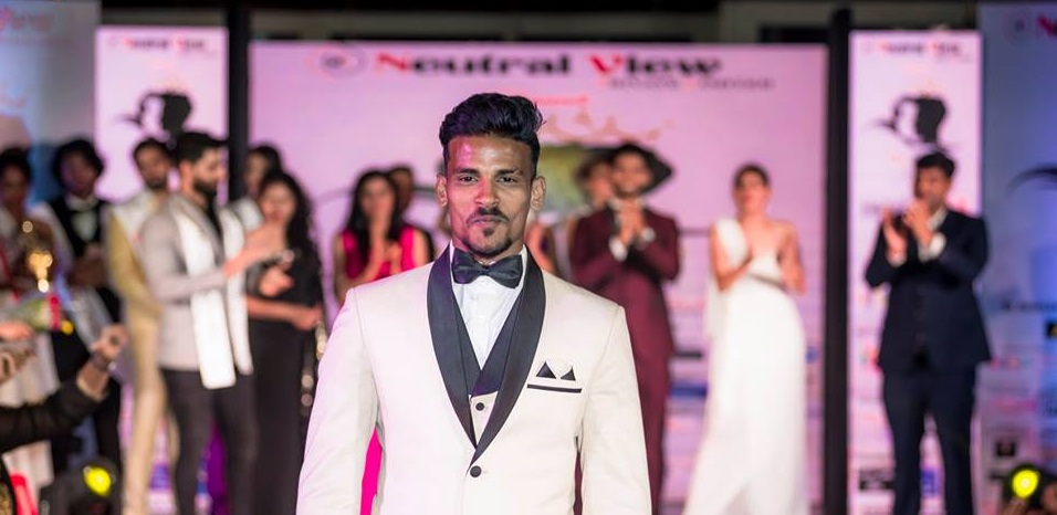 Rahul Rametri, the winner of Mister Goa 2018 contest.