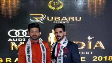 Mister India 2017, Darasing Khurana with Mister India 2018, Balaji Murugadoss