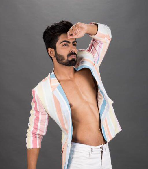 Akash won Rubaru Mr India pageant in 2016.