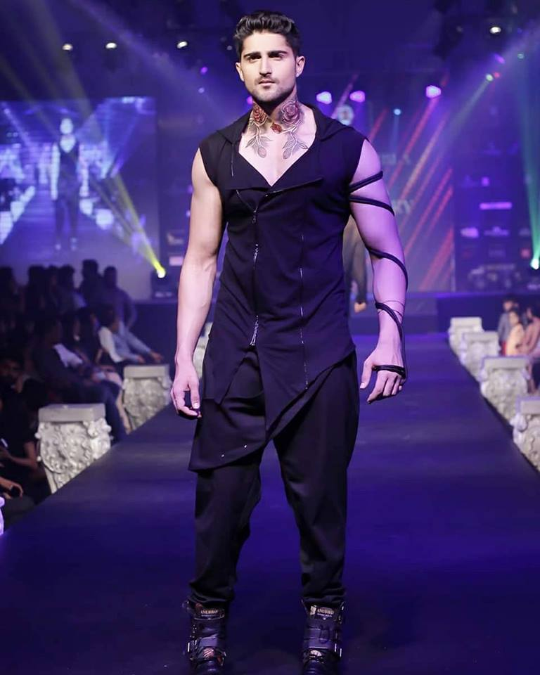 Shubham is a model by profession and stands 6 ft and 1 inch tall. He has light brown hair and black eyes.