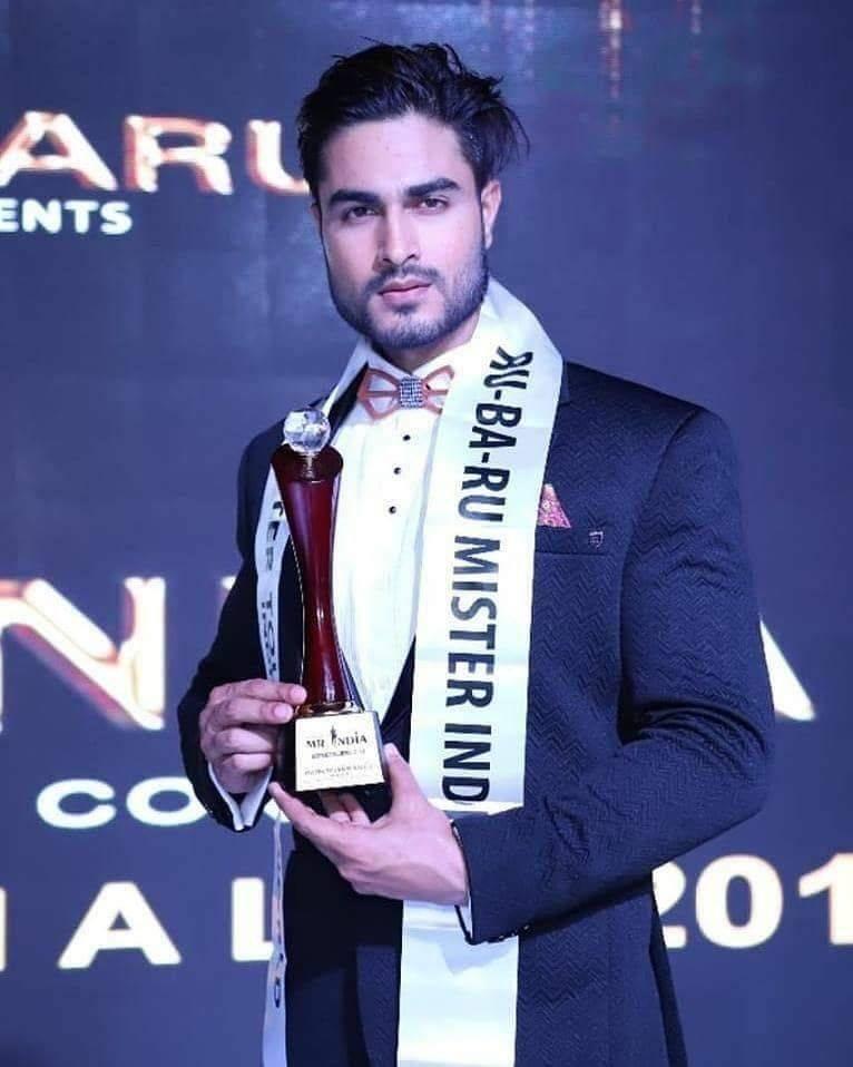 Zulfi Shaikh, Rubaru Mr India 2018.