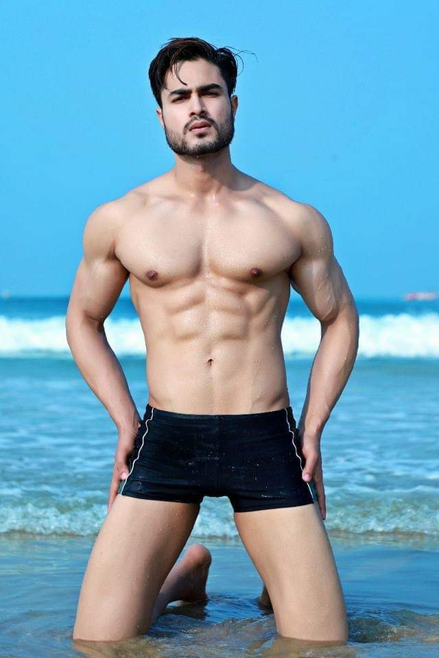 Zulfi Shaikh, Rubaru Mr India 2018. One of the most handsome Mr. India winners of all time.