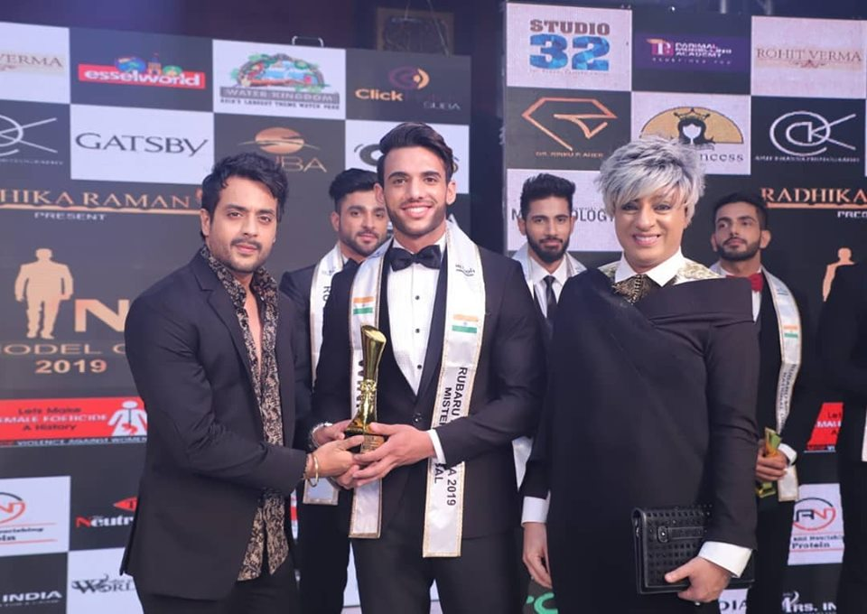 Rishabh Kumar, Rubaru Mr India Global 2019.