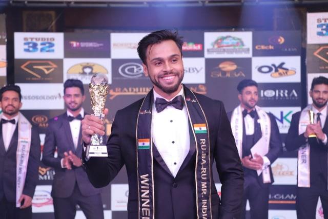Syed Zain, Rubaru Mr India 2019 from Karnataka.