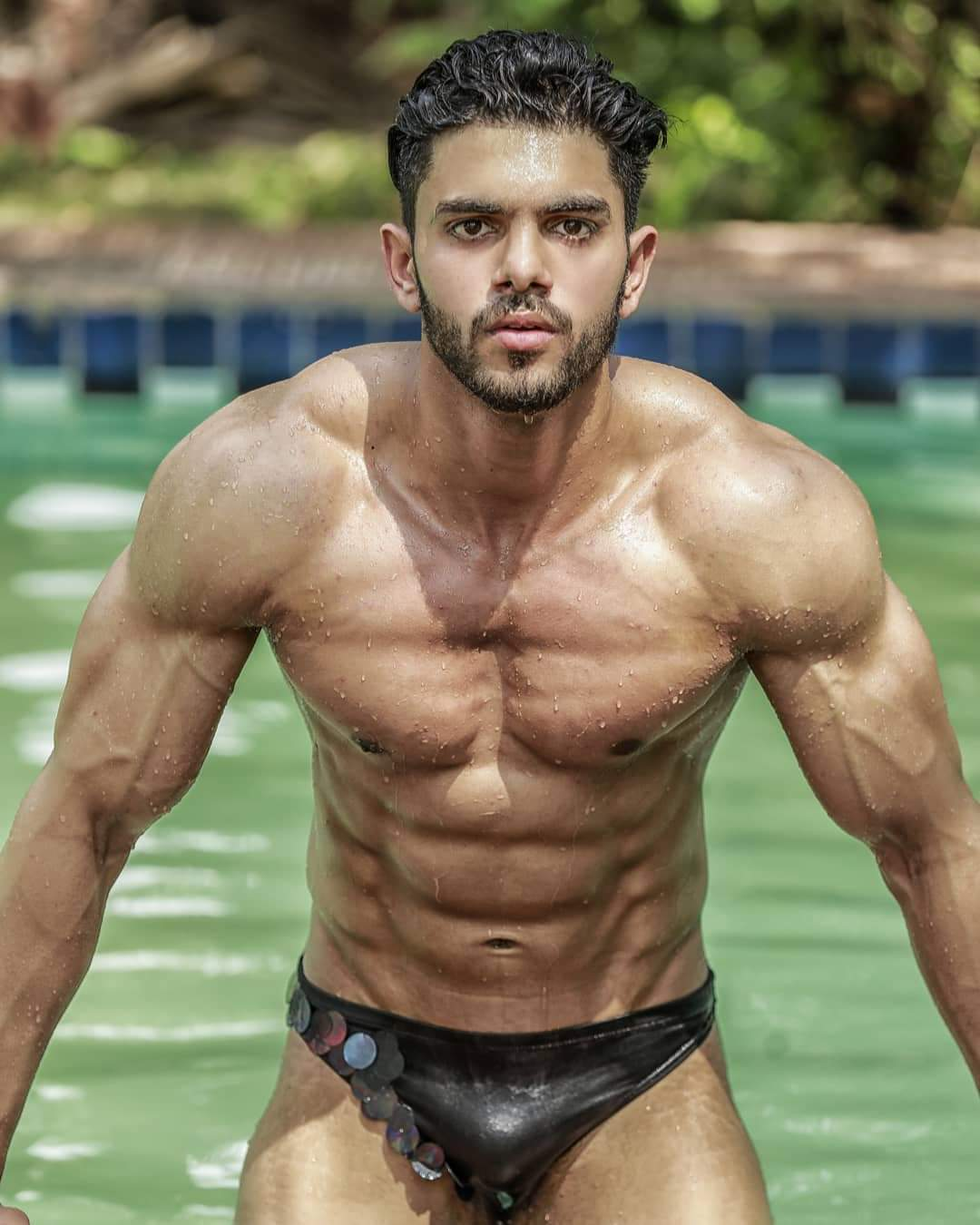 At the Mr India pageant, Pankaj got noticed for his very magnificent facial features, charming looks and Greek-God like physique. His conventional Indian looks and very naive yet chivalrous personality made him stand out from the rest.