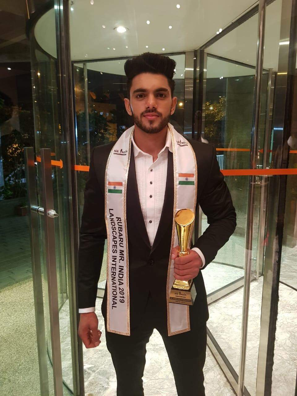 Winning the title at the tender of 19, Pankaj is the youngest Mr India winner in the history of Indian pageantry.