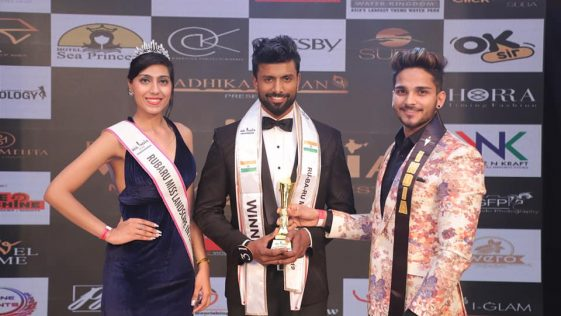 Shakti Kumar Shah, Rubaru Mr East India 2019.