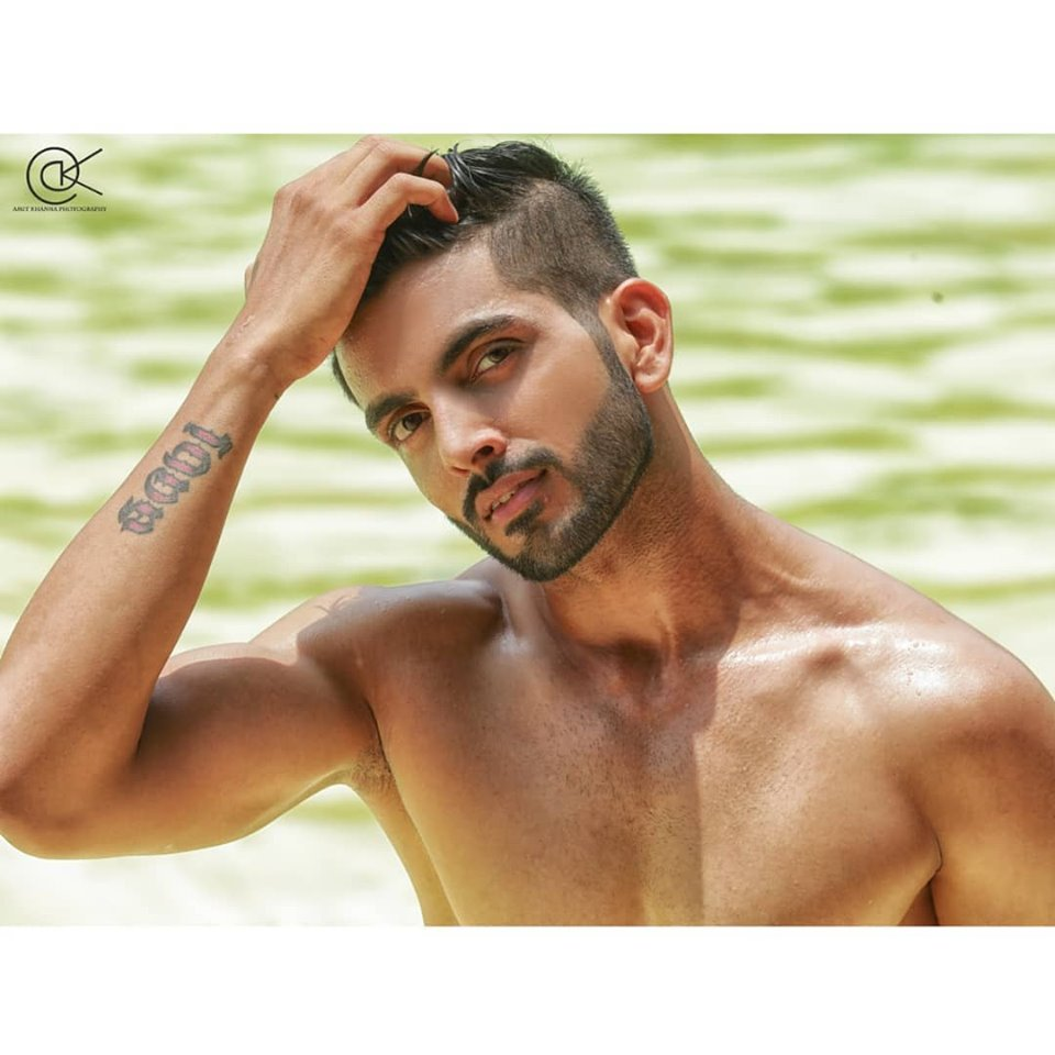 Rubaru Mr India National Universe 2019, Sahil Arora from Gujarat.