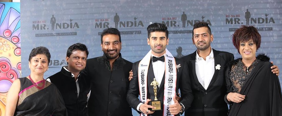 Rubaru Mr India International 2017 coronation gala.