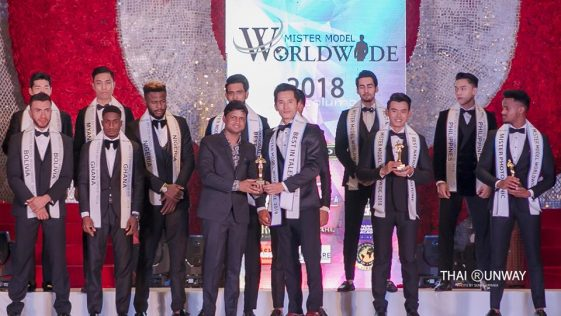 Mr Tibet, Tsering Chomphel won two special awards at Mister Model Worldwide 2018 contest.