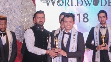 Mr Thailand, Yutthakon Buddeesee won 1st Runner-up title and Best National Costume award at Mister Model Worldwide 2018 contest.