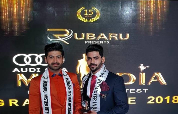 Mister India 2017, Darasing Khurana with Mister India 2018, Balaji Murugadoss