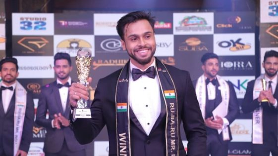 Syed Zain, Rubaru Mr India 2019 from Karnataka.