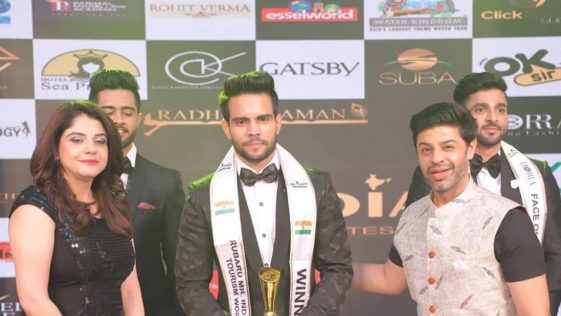 Rubaru Mr India Tourism World 2019, Lakshya Singh from Madhya Pradesh.